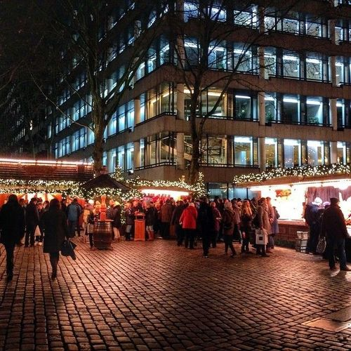 Christmas Market Spitalerstrasse, Hamburg, Germany #Rathaus #Hamburg #Xmas #christmas #Germany #Alster #Market #Iphone #5s #Iphone_5s #Apple #spitalerstrasse #Weihnachtsmarkt  Watch more about Germany in the videos below: http://goo.gl/yjdPaE. square, squareformat, iphoneography. buy photo