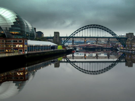 Reflections on the Tyne at Newcastle. county, city, uk, bridge, england, reflection, wet, water, beauty, buildings, river, newcastle, nice, stream, tour, open, place, country, north, visit, scene, location, sage, tyne, east, area, northern, update, northeast, geordie, attraction, ©2014tonyworrall, welovethenorth. buy photo