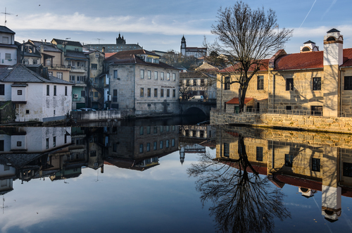 Between grey and gold. arquitectura, beiraalta, colors, landscape, mirror, nikond5100, places, portugal, reflection, rio, river, tokina1224dx2, urbanphotography, viseu, cityscape, viseudistrict, 927, 93, ©ruijorge9666, reflexos. buy photo