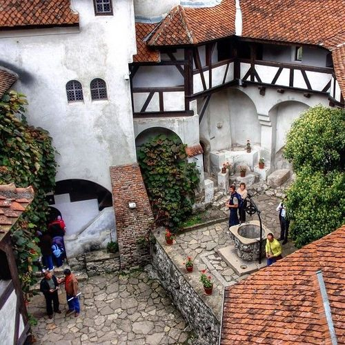 Bran Castle, (Dracula's Castle), Romania #Dracula #castle #Romania #Bran_Castle #Bran #Vlad  #Tepes #Brasov #museum #Wallachia #Stoker  Watch more about Romania Points of Interest in the videos bellow: http://goo.gl/UEPppc. square, squareformat, iphoneography. buy photo