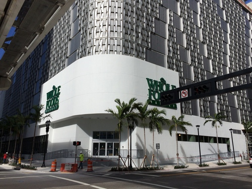 New Whole Foods Downtown Miami. retail, foods, downtown, miami, supermarket, whole. buy photo