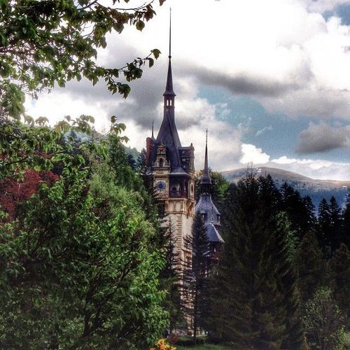 Peles Castle, Romania #Peles #castle #Romania #Mihai #Carol #king  Watch more about Romania Points of Interest in the videos bellow: http://goo.gl/UEPppc. square, squareformat, iphoneography. buy photo