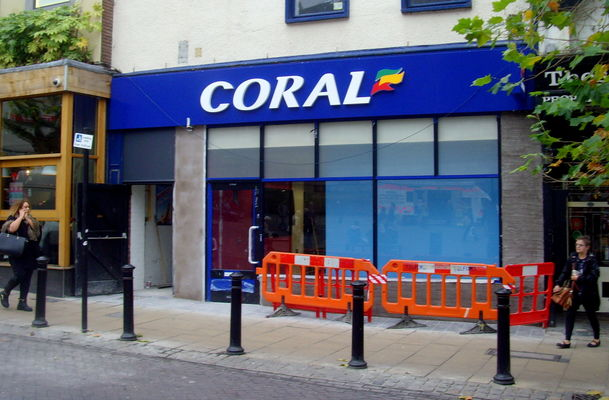 New Coral betting shop in the heart of Preston. county, city, uk, england, coral, stream, tour, open, place, northwest, grim, country, north, visit, location, lancashire, area, preston, northern, update, attraction, lancs, bettingshop, ©2014tonyworrall, welovethenorth. buy photo