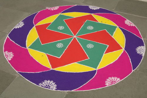 040. rangoli, surat. buy photo