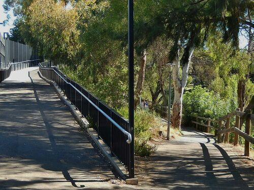 High and Low Paths. high, low, fork, adelaide, paths. buy photo