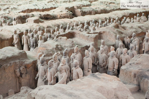 Mausoleum of Qin Shi Huang and his Terracotta Army. china, vacation, xian, chinavacation2014. buy photo