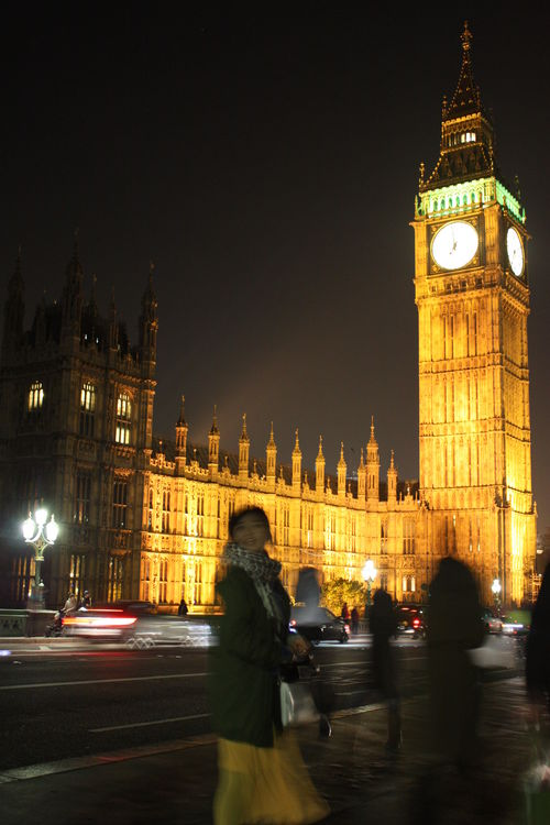 7pm Big Ben, London. city, uk, building, london, architecture, night, shadows, unitedkingdom, outdoor, bigben, 2014. buy photo