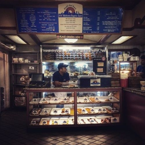 Sometimes you just need a late night #bagel #h&h. square, squareformat, crema, iphoneography. buy photo