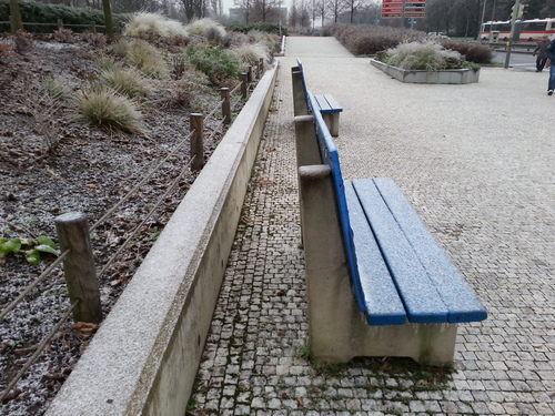20141202_081341 - Winter is comming. city, ice, nature, bench, december, prague, seat, samsung, icing, coating, prosek. buy photo