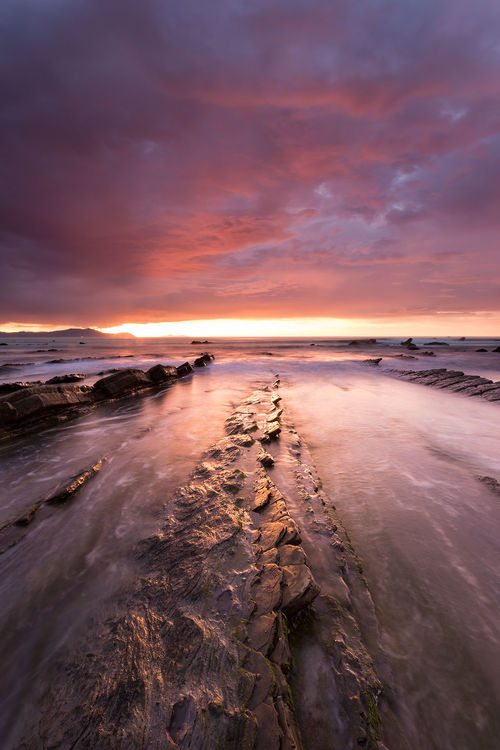 Barrika IV. sunset, sea, canon, atardecer, mar, cantabrico, barrika, ef1740, eos6d. buy photo
