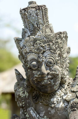 One of the statues in Taman Ayun's Temple. buy photo