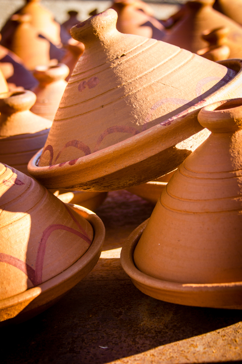 Tagines - Morocco. africa, travel, red, holiday, sahara, canon, ceramic, photography, interesting, northafrica, potter, adventure, explore, morocco, berber, clay, atlas, marrakech, pottery, marrakesh, tribe, dslr, artisan, terracota, potterswheel, joemarshall, jgmarshall. buy photo