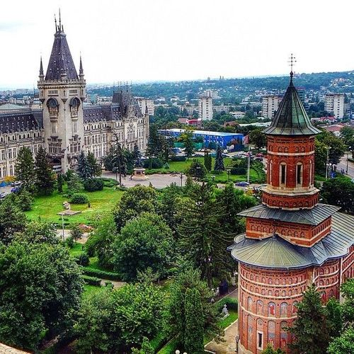 Iași, Romania #palatul_culturii #Iasi #Romania #orthodox Watch more about Romania Points of Interest in the videos bellow: http://goo.gl/UEPppc. square, squareformat, iphoneography. buy photo