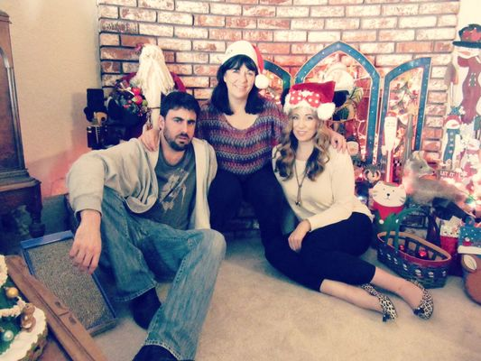 Christmas 2014. family, christmas, christmasdecorations, marie, katheryn, will. buy photo