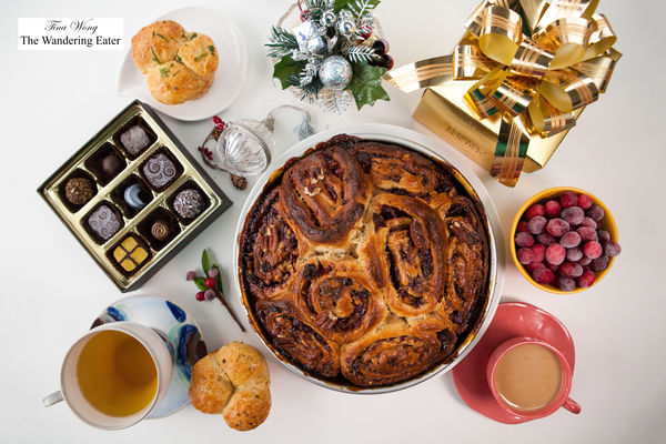 Merry Christmas!. orange, bread, cranberry, homemade, homebaking, stickybuns, christmas2014. buy photo