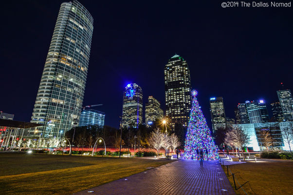 Before Christmas. park, christmas, architecture, dallas, downtown, texas, warren, klyde. buy photo