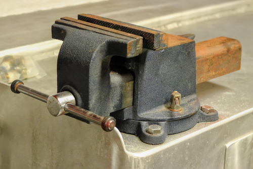 Bench Clamp. canon, industrial, tool, workboat, benchclamp, canonrebel3ti, ilobsterit. buy photo