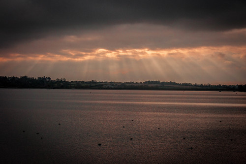 Bixworth county park. uk, sunlight, lake, water, clouds, countryside, britain, ilobsterit. buy photo