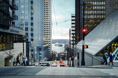 It's all down hill from here. seattle, pentax, mx1, justpentax. buy photo