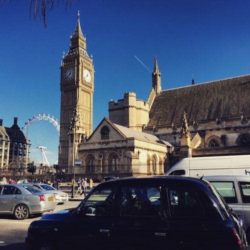 a large building with a clock tower on top of it. uk, england, london, лондон, англия, великобритания. buy photo