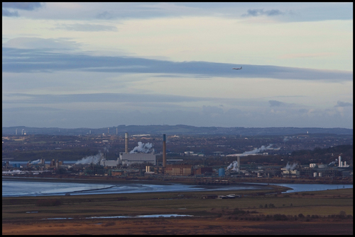 Flying High over the Mersey. buy photo