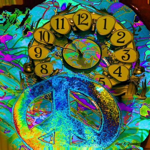 Time 4 Peace. abstract, peace, time, gailpiland. buy photo