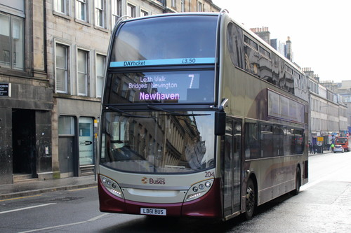 Lothian Buses 204 | LB61 BUS. buy photo