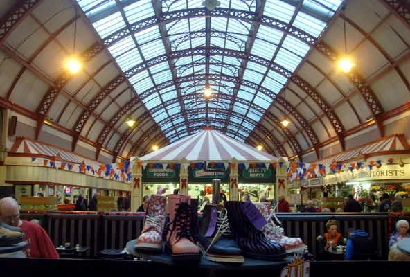 Newcastle Market. county, city, uk, england, urban, building, newcastle, boats, shoes, stream, arch, tour, open, place, interior, country, north, visit, location, east, area, inside, northern, update, northeast, built, stalls, geordie, attraction, newcastlemarket, ©2014tonyworrall, welovethenorth. buy photo