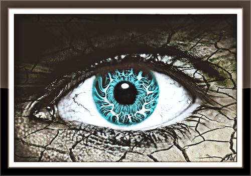 Texture excercise. eye, art, texture, glass, google, nikon, flickr, belgium, image, expression, sigma, textured, facebook, textuur, twitter, gingelom, ipernity, d5100, ipiccy. buy photo