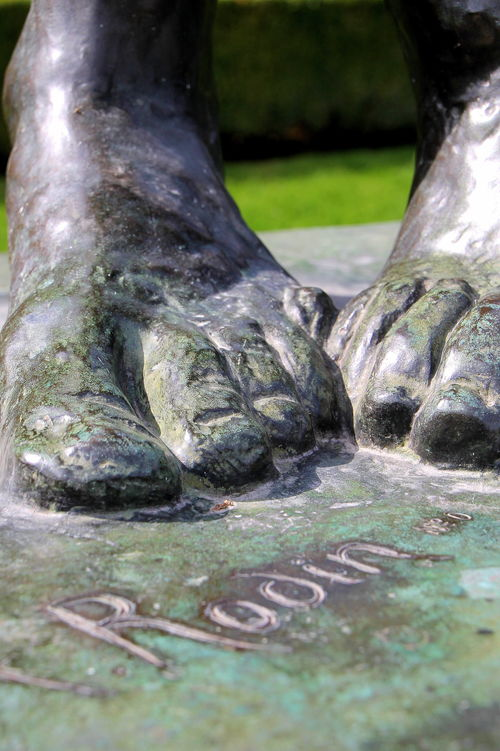 FEET ~ Gardens of Musée Rodin 9-19-2014 1-53-50 AM. travel, flowers, windows, cemeteries, food, paris, france, color, brick, castles, feet, cemetery, vegetables, birds, rose, les, seine, fruit, cheese, architecture, bronze, photography, death, this, moss, hands, europe, wine, metro, eiffeltower, obsession, tourist, musee, luggage, desserts, cobblestone, invalides, sunflowers, vin, ate, provence, toulouse, notre, dame, pastries, tombstones, montparnasse, loire, loirevalley, blanc, wandering, sculptures, rodin, jardins, toulouselautrec, claudel, archdetriomphe, tulleries, gardins, iloveparis, tarnriver, camiile, iphoneography, instagram. buy photo